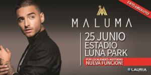 Maluma Argentina 2016